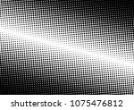 grunge dotted halftone... | Shutterstock .eps vector #1075476812