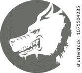 icon illustration of a rabid...   Shutterstock .eps vector #1075504235