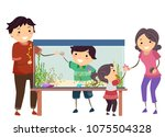 illustration of a stickman...   Shutterstock .eps vector #1075504328