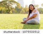 portrait of beautiful... | Shutterstock . vector #1075533512