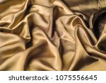 fabric made of silk fabric...   Shutterstock . vector #1075556645