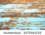 vintage beach wood background   ...   Shutterstock . vector #1075563155