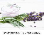 cosmetic cream and fresh...   Shutterstock . vector #1075583822
