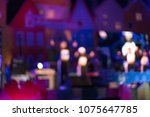 blurry concert for the... | Shutterstock . vector #1075647785
