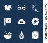 premium set with fill icons....   Shutterstock .eps vector #1075676792