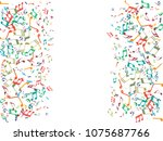 abstract background for... | Shutterstock .eps vector #1075687766