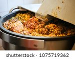 Small photo of Liver dumplings are produced in a butcher shop, production, fresh ingredients