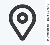 location vector icon  pin...