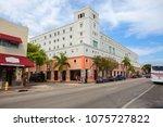 miami  usa  03 18 2016  little... | Shutterstock . vector #1075727822