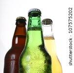 bottles of beer | Shutterstock . vector #107575202