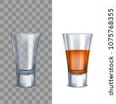 realistic detailed 3d shot... | Shutterstock .eps vector #1075768355