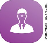 businessman icon vector design | Shutterstock .eps vector #1075769588