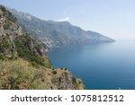 amalfi coast landscape | Shutterstock . vector #1075812512
