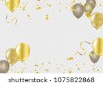 celebration background template ... | Shutterstock .eps vector #1075822868