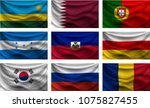 background set wave country... | Shutterstock .eps vector #1075827455
