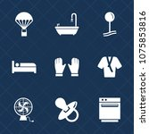 premium set with fill icons....   Shutterstock .eps vector #1075853816
