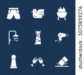 premium set with fill icons.... | Shutterstock .eps vector #1075859276