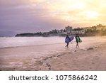 sydney  nsw australia  surfers... | Shutterstock . vector #1075866242