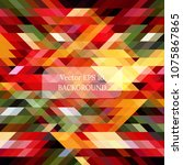 colorful abstract background... | Shutterstock .eps vector #1075867865