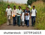 nandurbar  maharashtra  india...   Shutterstock . vector #1075916015