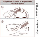 simple static electric... | Shutterstock .eps vector #1075927985