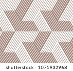 abstract geometric pattern with ... | Shutterstock .eps vector #1075932968