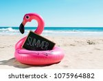 a signboard with the word... | Shutterstock . vector #1075964882