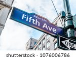 5th avenue  ave  sign  new york ...