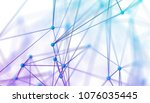abstract 3d rendering of... | Shutterstock . vector #1076035445