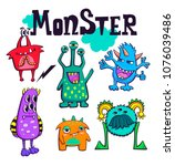 monster life t shirt design... | Shutterstock .eps vector #1076039486