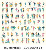 vector illustration in a flat...   Shutterstock .eps vector #1076064515