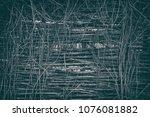 rustic vintage background of... | Shutterstock . vector #1076081882