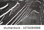 abstract white and brown... | Shutterstock . vector #1076084888