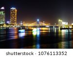 the beauty of da nang city at... | Shutterstock . vector #1076113352