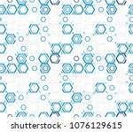 abstract seamless pattern of... | Shutterstock .eps vector #1076129615