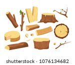 vector illustration set of... | Shutterstock .eps vector #1076134682