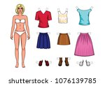 vector colorful set of... | Shutterstock .eps vector #1076139785