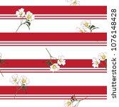 summer blooming meadow flowers...   Shutterstock .eps vector #1076148428