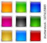 internet web button set   Shutterstock . vector #107615885
