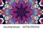 geometric design  mosaic of a...   Shutterstock .eps vector #1076190242