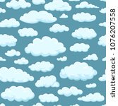 seamless pattern. clouds of...