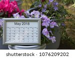 Calendar Of The Month Of May...