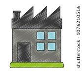 factory building symbol scribble | Shutterstock .eps vector #1076210516