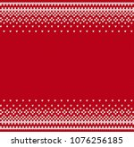 knit geometric ornament to... | Shutterstock .eps vector #1076256185