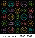set of quality universal... | Shutterstock .eps vector #1076315342