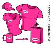 business template. t shirt men... | Shutterstock .eps vector #107633282