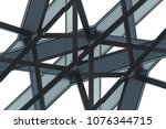frames of structural glazing.... | Shutterstock . vector #1076344715