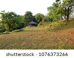 view of campground | Shutterstock . vector #1076373266