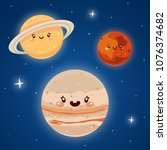 cute mars  jupiter and saturn ...