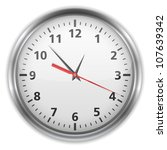 clock  vector eps10 illustration | Shutterstock .eps vector #107639342